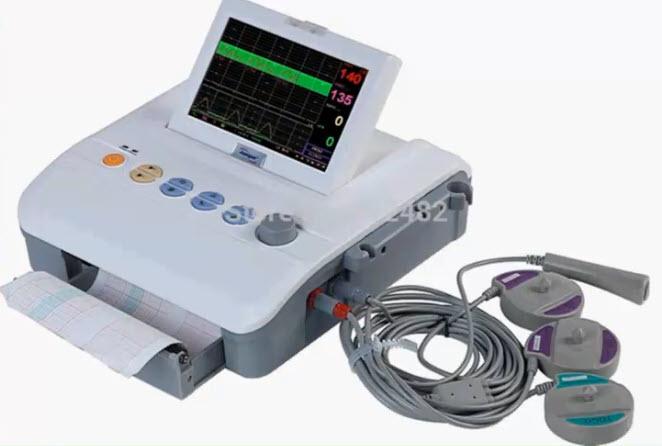 Современные кардиомониторы регистрируют: сердечную деятельность плода
