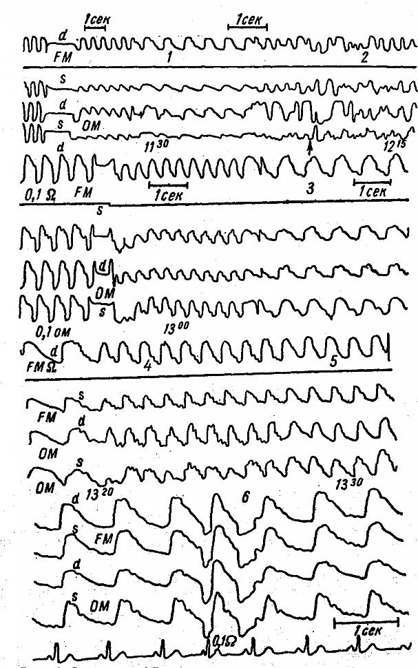 Показатели тестов функциональной диагностики в течение овуляторного менструального цикла